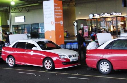 LCCターミナルのタクシー