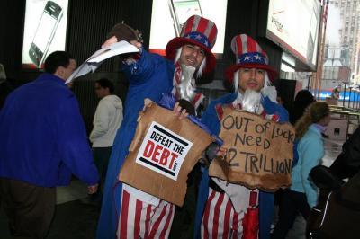 「米国の負債がとんでもないことになってます」