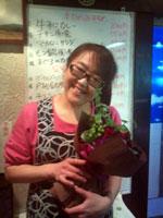 ママと花束