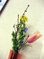 ひな祭りのお花