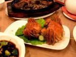 上海 茂名南路 瑞福園酒家 そろそろ終わりの上海蟹。堪能しましょ