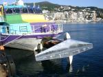 熱海港で見たジェット船(2009/11/15)