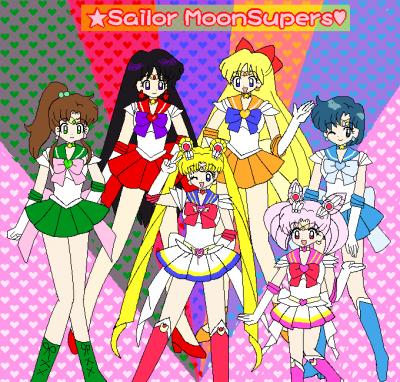 美少女戦士セーラームーンss セーラー戦士6人