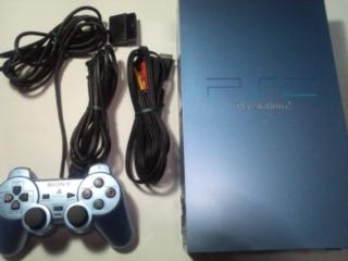 中古PS2本体と付属品