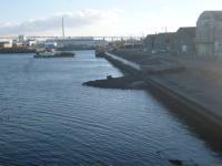 名港 引き潮 スリップ 20130216