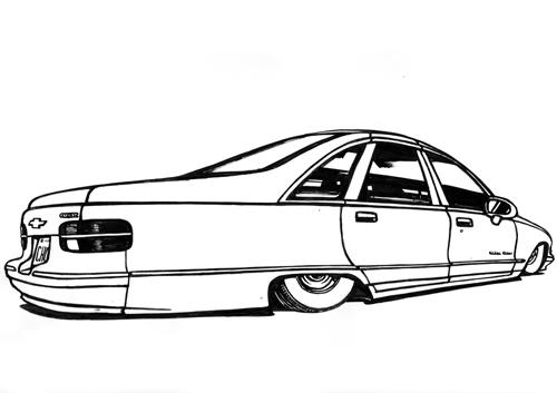 allsmobile 1992 chevrolet caprice