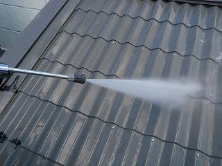 03 屋根高圧洗浄
