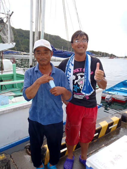13.船長と岡本さん