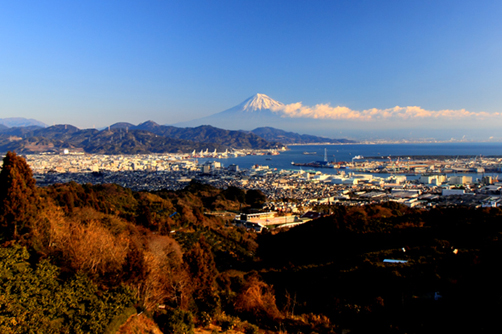 日本平からの富士山