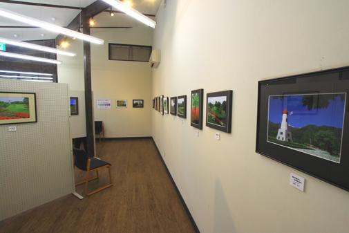 参加者写真展の会場