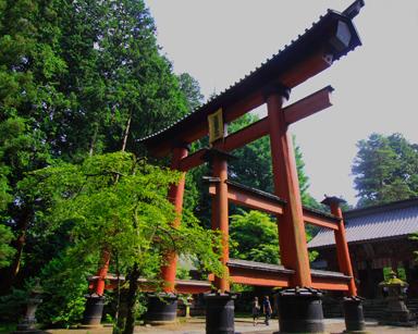浅間神社の大鳥居