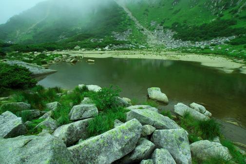 霧の濃ヶ池