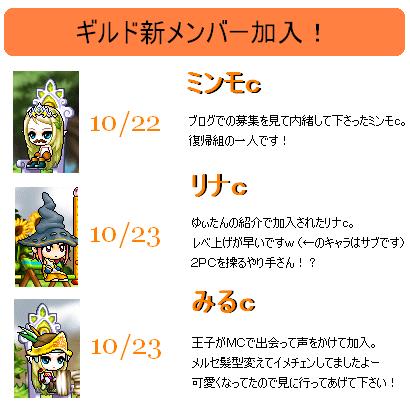 ギル新メンバー加入2011.10