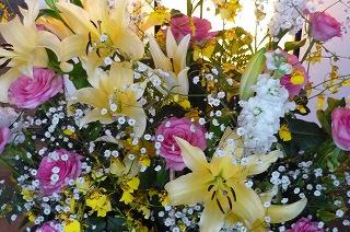 井田さんのお花