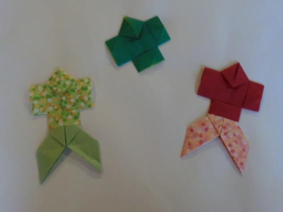 クリスマス 折り紙:やっこさん 折り紙-amgwplus.blog.fc2.com