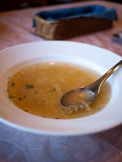 コックさん ランチのスープ