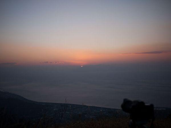 2014年元旦浜石岳より見る初日の出05