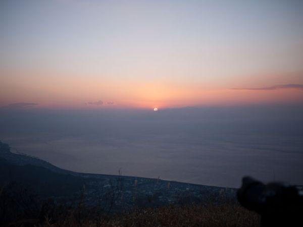 2014年元旦浜石岳より見る初日の出02