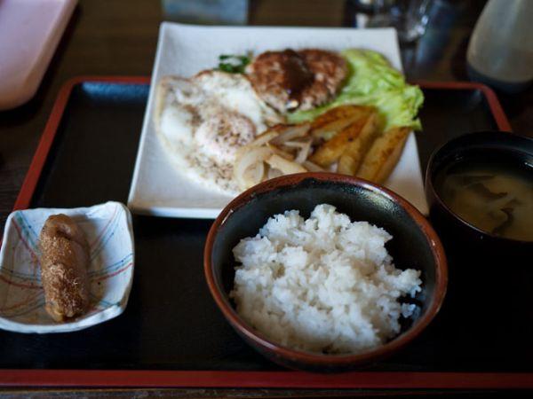 藤枝 ひまわり ハンバーグ定食