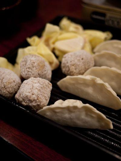 バーミヤン 火鍋食べ放題 餃子 肉団子 ワンタン