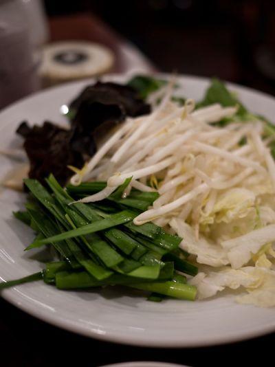 バーミヤン 火鍋食べ放題 野菜