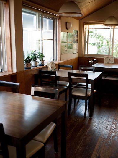 ブルーレイコーヒー 店内
