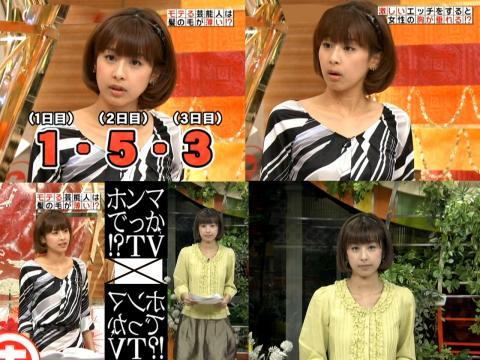 加藤綾子 ホンマでっか!?TV 2.22他