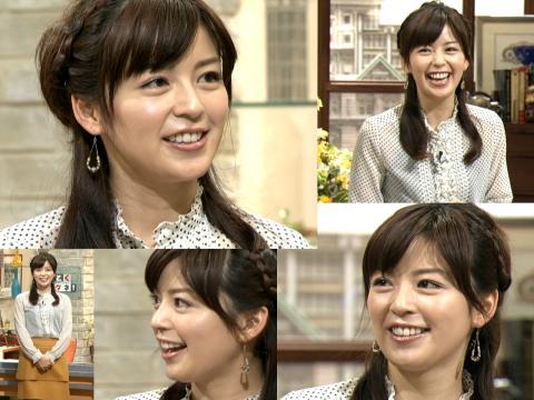 笑顔満面 中野美奈子