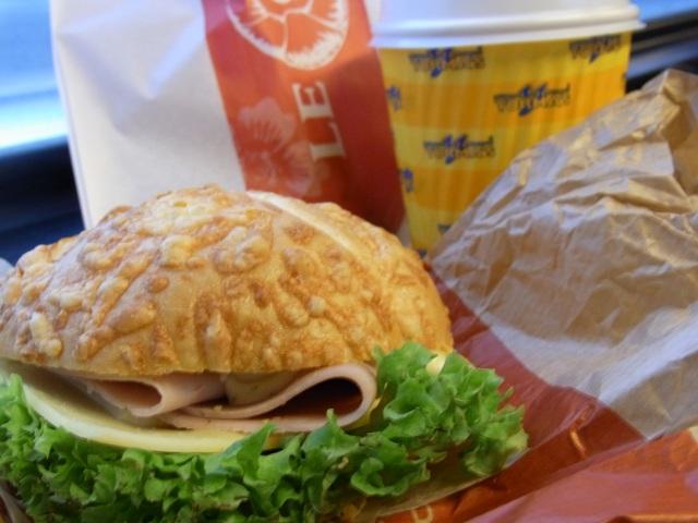 Kampsのチーズパンサンド
