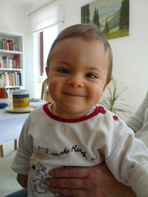 幼少の頃のPaul (ルミックスFX07で撮影)