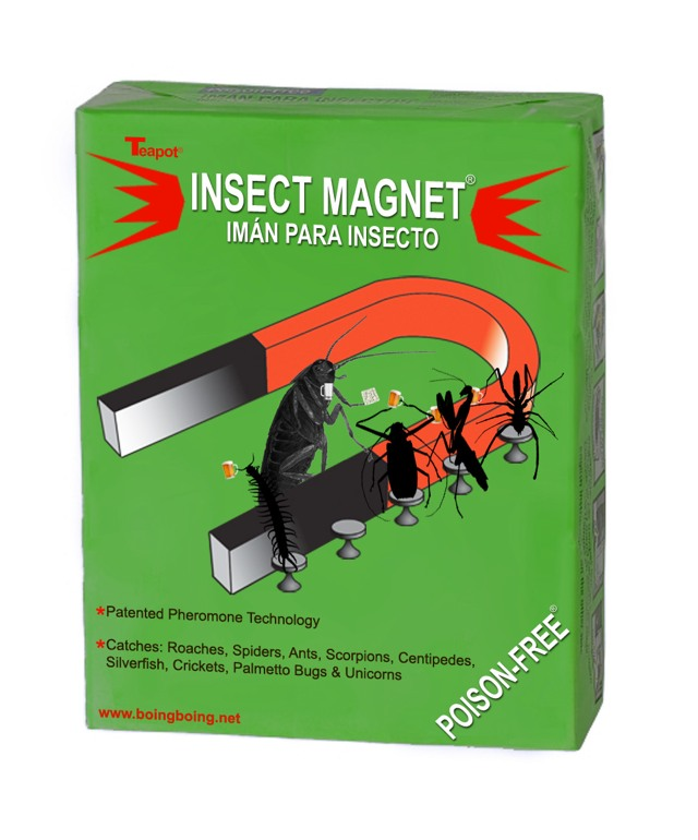 Gallery of real and imaginary pest killer packaging