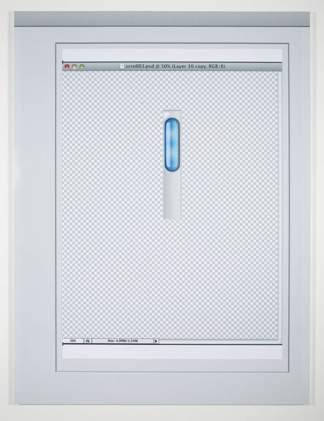 OS X scroller