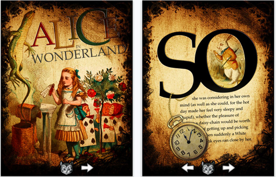 Alice for the iPad