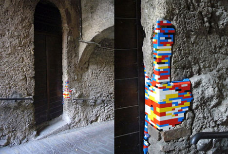 Fixing Buildings with LEGO Blocks