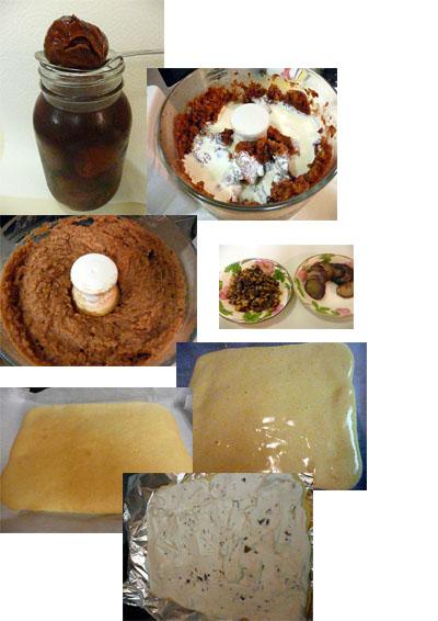 栗のロールケーキレシピ