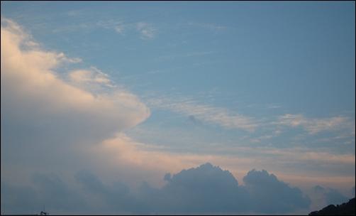 雲がキレイ