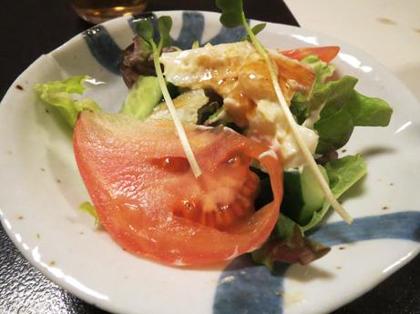 2013 3 9 おおきにホッキのサラダ1
