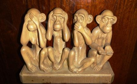 台湾の四猿