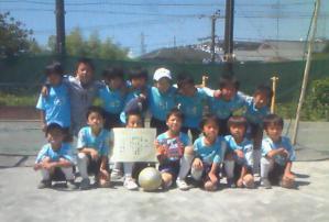 2011年度春季青葉区少年サッカー大会U8準優勝