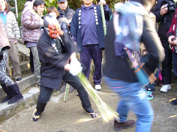 おんだ祭2013 愛の鞭☆