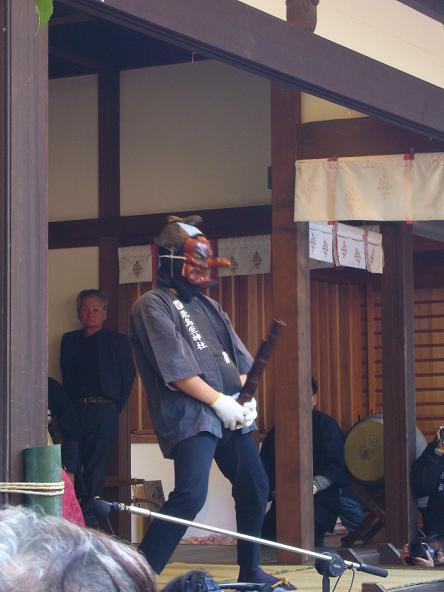 おんだ祭2013_天狗