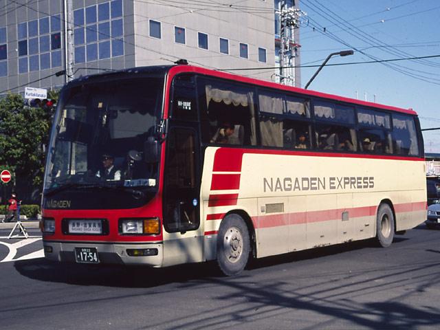 あ~る君の日常 長電バス 1754号車。