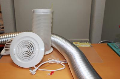 ク-ラ排熱ダクト化部品