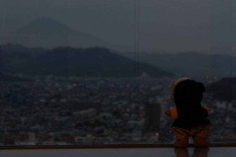 富士山を見る 120115