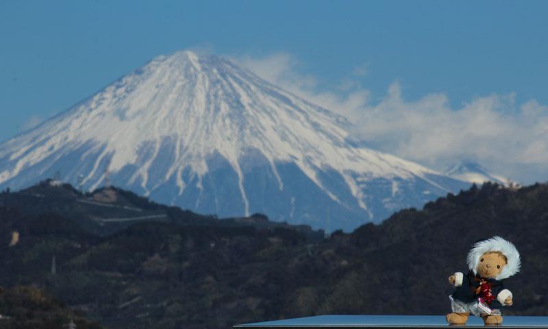 富士山とくま 120125