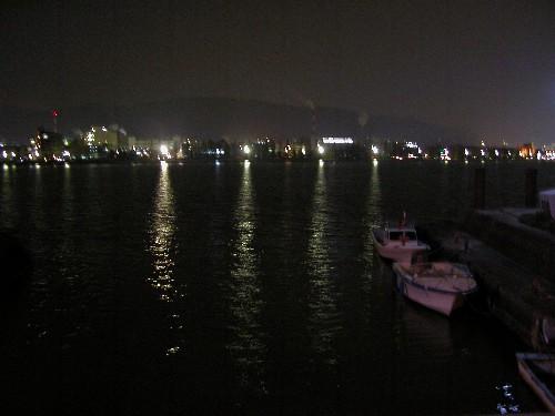 車中泊 琵琶湖畔