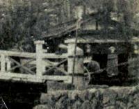 太古橋横の商家