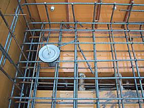屋上防水の配管