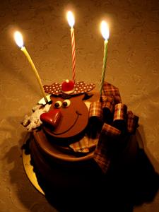 クリスマスケーキ'09