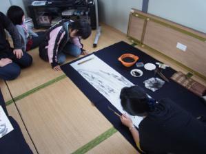 201302 水墨画ボランティア 早春 Day1_04